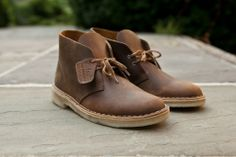 CLARKS Desert Boot Leather - Beeswax | Boot | Kith NYC