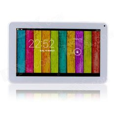 "AMOI M90 9.0"" Dual-Core Android 4.2.2 Tablet PC w/ 512 RAM, 8GB ROM, Wi-Fi, Bluetooth - White Price: $75.99"