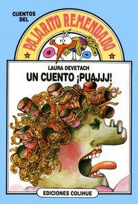 """""""Un cuento ¡puaj!!!"""",  de Laura Devetach. La Tía Sidonia (personaje que lleva el sello de la escritora), sus animales, adorables onomatopeyas y enredos en una historia tan sencilla como eficaz. Aquí se puede escuchar http://planlectura.educ.ar/imagenes/Cuentos%20PLAN/Track%20No23.mp3"""