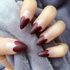 Deep Red Matte Hearts Stiletto, http://www.doobysnails.com/shop-page/4586096743/glitter-bomb-tips-stiletto/9210057