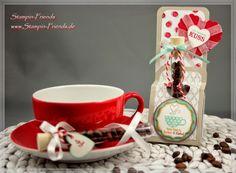Stampin-Friends: Goodie für Kaffeefreunde
