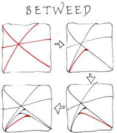Betweed, part 1 - Official #Zentangle
