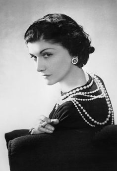 Portrait of Mademoiselle Chanel by Horst, 1937, (c) Conde Nast/Corbis
