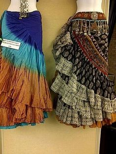 magical fashions - trim on belt and scarf effect - also chains shop, save, smile, Bohemian Skirt, Gypsy Skirt, Boho Chic, Costume Tribal, Gypsy Costume, Tribal Fashion, Boho Fashion, Fashion Dresses, Style Nomade