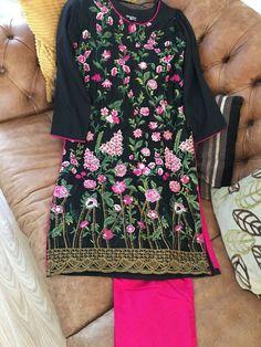 Pakistani Shalwar Kameez Stitched 3 Pcs brand new, Soft Cotton, Sizes S, M & L Asian Suits, Ethnic Suit, Embroidery Materials, Punjabi Dress, Pakistani Designers, Shalwar Kameez, Indian Ethnic, Daily Wear
