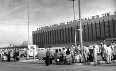 Estación de ferrocarriles. 1958