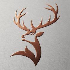 Un cerf à 12 bois, découvrez le nouveu logo Glenfiddich - Logos Metal Art, Wood Art, Hirsch Silhouette, Logo Animal, Tattoo Animal, Visual Design, Design Design, What Is Fashion Designing, Visual Identity