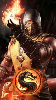 Mortal kombat-scorpion art,so cool. Raiden Mortal Kombat, Mortal Kombat X Scorpion, Sub Zero Mortal Kombat, Mortal Kombat Games, Scorpion Halloween, Mortal Kombat X Wallpapers, Les Sopranos, Les Reptiles, Mileena