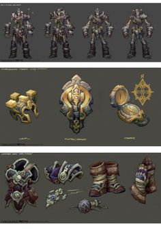 Artes do game Darksiders II, por Avery Coleman | THECAB - The Concept Art Blog