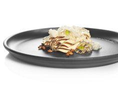 FOIE GRAS CRU con 5 especias , riesling, caramelo de piñones y nieve