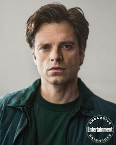 Sebastian Stan, Ralph Macchio, Bucky Barnes Aesthetic, Winter Soldier Bucky, Anthony Mackie, Man Thing Marvel, Marvel Actors, Entertainment Weekly, Strike A Pose