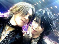 Sugizo and Heath. X Japan