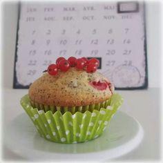 Mohn-Ribisel-Muffins