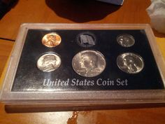 1974 coin set and proof like 1958D silver by DrewsCollectibles, $12.00 #coins #washington