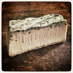 Beard Soap by TreeBeard with Goats Milk Australian Blue Clay