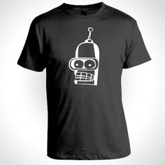 $12.99 BENDER T shirt Free Shipping with Tracking Number