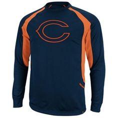 Chicago Bears Men's Long Sleeve Performance Shirt