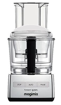 Cheap Magimix by Robot-Coupe Food Processor: polished chrome Cauliflower Puree, Cauliflower Crust Pizza, Small Appliances, Kitchen Appliances, Kitchens, Kitchen Ware, Food Processor Reviews, Compact, Juicer Machine