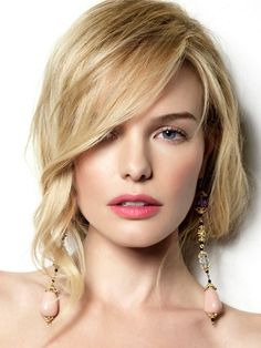 kate bosworth in elle korea. Love the hair! Kate Bosworth, Wedding Hair And Makeup, Bridal Makeup, Hair Makeup, Eye Makeup, Blonde Haircuts, Hairstyles Haircuts, Remy Human Hair, Human Hair Extensions