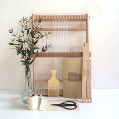 Weaving loom kit Large / Starter's kit / Weaving by funemstudio