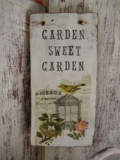 Bt For Organic Gardening Mosaic Garden, Garden Art, Garden Ideas, Garden Projects, Farm Gardens, Outdoor Gardens, Grandmas Garden, Front Yard Design, Barn Wood Signs