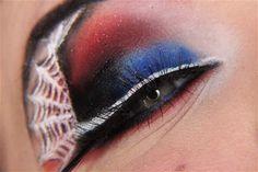 Spiderman makeup!