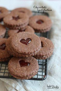 Schokospitzbuben … Chocolate Spoon Boys Plus Xmas Food, Christmas Desserts, Christmas Baking, Cupcake Recipes, Baking Recipes, Cookie Recipes, Chocolate Spoons, Chocolate Cupcakes, Chocolate Torte