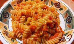 Pasta al Pesto di Peperoni alla mia maniera