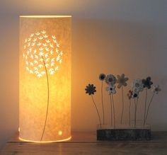 very cool. Small Allium Table lamp by Hannahnunn on Etsy