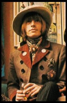 London Palladium, 23.01.1967. Brian Jones again wears Dandie Fashions coat.