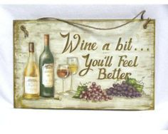 New Wood Sign Home Decor Plaque Wooden Funny Bar Message Wall Mount Restaurant