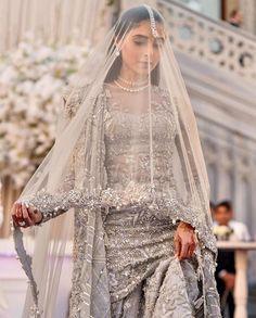 You do things… Desi Wedding Dresses, Country Wedding Dresses, Fit And Flare Wedding Dress, Princess Wedding Dresses, Boho Wedding Dress, Wedding Hijab, Cinderella Wedding, Bling Wedding, Modest Wedding