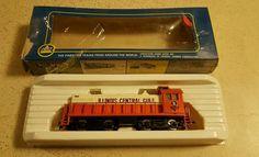 HO Scale AHM ALCO GE 1000 HP #5010 Illinois Central Gulf Train Engine Yugoslavia #AHM