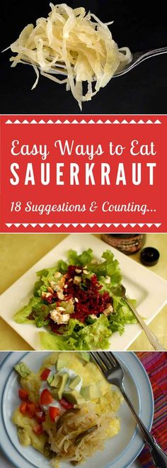 A growing list of simple and inspiring ways to effortlessly add zing to your meals. Scrumptious eggs. Instant salad ideas. Pizza topping. via @makesauerkraut