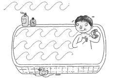 trazos y grafomotricidad Leaf Coloring Page, Coloring Pages, Preschool Writing, Handwriting Worksheets, Pre Writing, Hygiene, Health Education, Fine Motor Skills, Schmidt