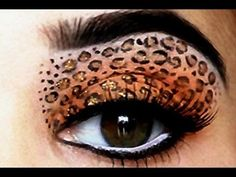 Sexy Leopard Eyes making mariesa do this for me on halloween this year she j doesn't know it yet :)