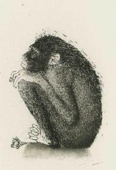 Heiskanen Outi: Ihailija, vedos Word Pictures, All Art, Finland, Printmaking, Book Art, Contemporary Art, Sketchbook Ideas, Fine Art, Etchings