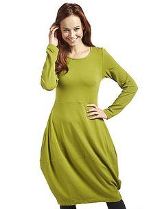 Jersey-Kleid Prisca von Deerberg in grün | Deerberg 69,95