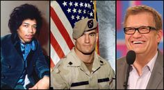 check out this list of 28 famous U. veterans who served their country Famous Veterans, Home Of The Brave, Country, Check, Rural Area, Country Music