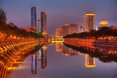 Chengdu, in Sichuan province, came top this year in Oriental Outlook magazine's annual ranking of the 10 happiest cities in China. #happiness