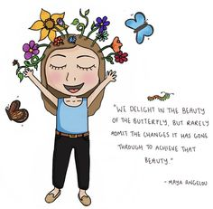 Image may contain: text Mindfulness In Schools, Mindfulness For Kids, Art Therapy Activities, Self Care Activities, Morning Mantra, Coaching, Butterfly Quotes, This Is Your Life, Mental And Emotional Health