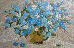 Don't toss the eggshells away, use them and make some art installation. The eggshell mosaic art decoration would be great finish of the holiday. Mosaic Crafts, Mosaic Projects, Mosaic Art, Mosaic Glass, Mosaic Tiles, Glass Art, Art Projects, Mosaic Designs, Mosaic Patterns