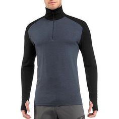 Icebreaker Men's Bodyfit 260 Tech Half-Zip Long Underwear Top