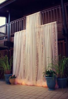 wedding ceremony idea; Via CraftyCousinsCo