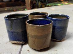 Green tea glasses – set of 4 | World Art Community