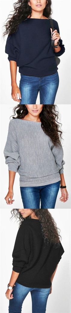 6 Colors Long Sleeves Loose Jumper