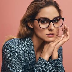 'I love everything about the MAX&Co. #eyewear collection - the lovely shapes and the fact that they are light and super comfortable!' - Olivia Palermo. #maxandco #oliviapalermo