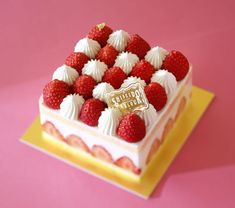 Increíble tarta de fresas