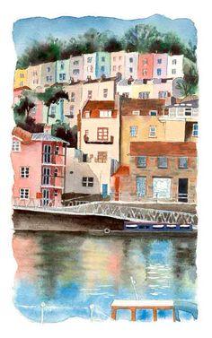 Hotwells, Bristol by Lorna Rankin
