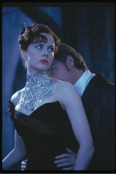 """Nicole Kidman wearing stunning diamonds in """"Moulin Rouge."""" FOX All Rights Reserved Moulin Rouge Film, Satine Moulin Rouge, Nicole Kidman Moulin Rouge, Baz Luhrmann, Movies And Series, Movie Costumes, Ballet Costumes, Film Stills, Girls Best Friend"""